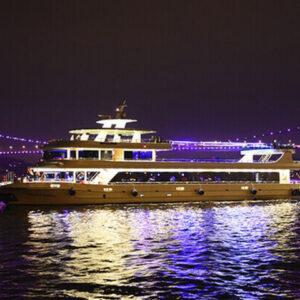 Bosporus Kreuzfahrt mit Abendessen & Nacht Show