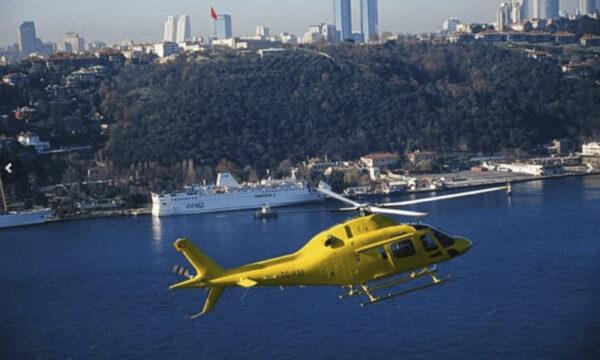Стамбул с Высоты Птичьего Полета на Вертолете