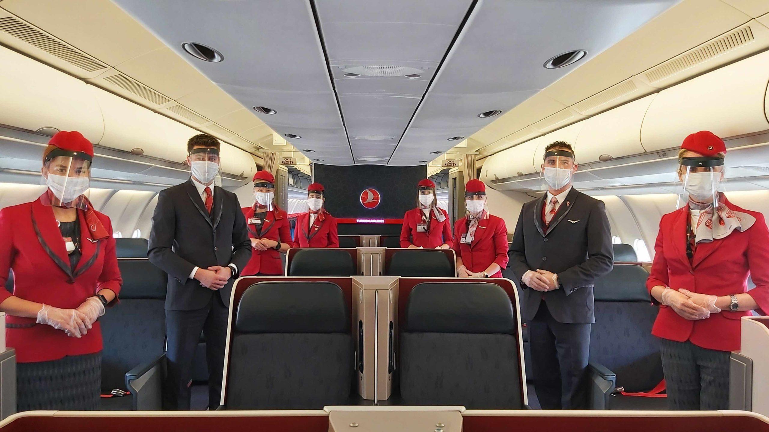 Medidas de Prevención e Higiene Tomadas por Turkish Airlines