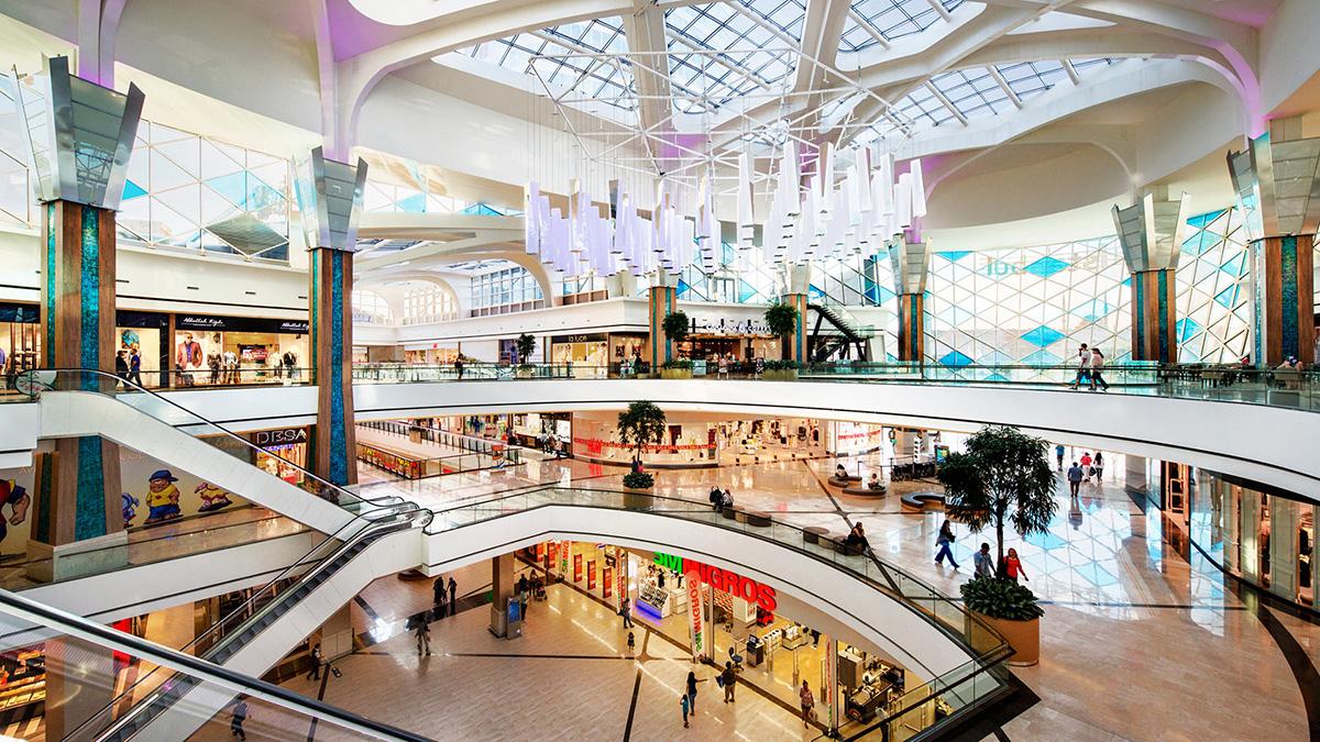 Розкішні торгові центри в Стамбулі