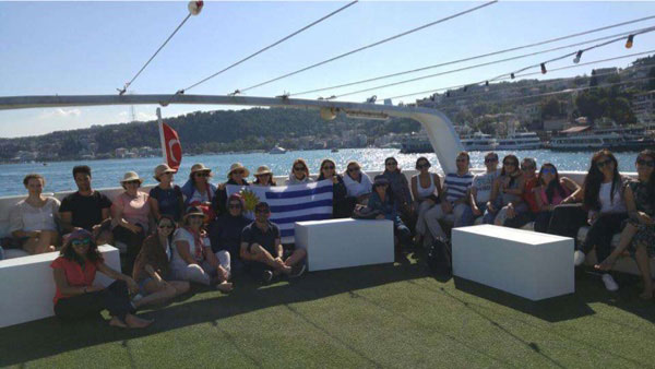 included bosphorus cruise and old city